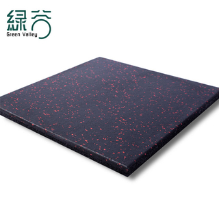 SBR Black +15% EPDM color rubber flooring mat